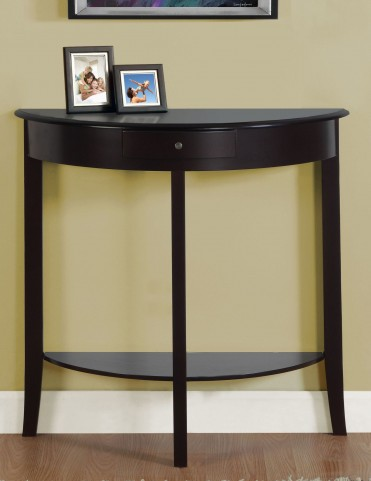 "3128 Dark Cherry 31"" Accent Table"