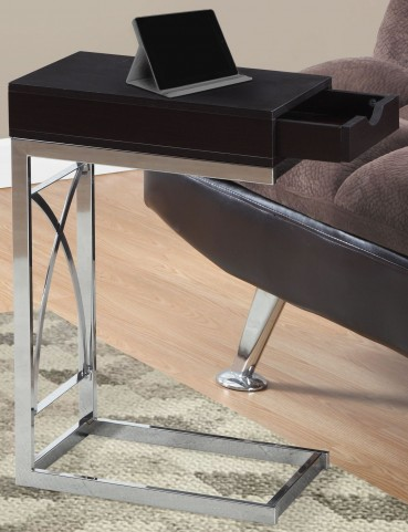 3172 Cappuccino Drawer Accent Table