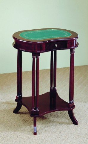 3325 Cherry Kidney Shaped Telephone Table