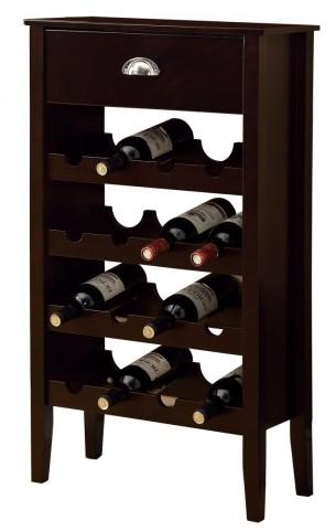 3346 Cappuccino Wine Rack