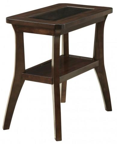 3383 Dark Walnut Accent Side Table