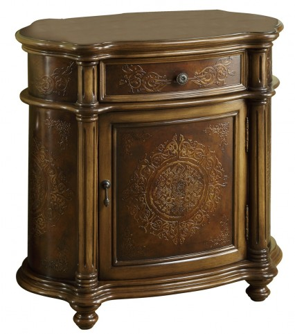 3825 Light Brown Bombay Cabinet