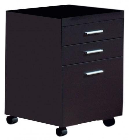 7009 Cappuccino File Cabinet
