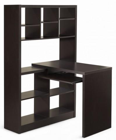 7021 Cappuccino Left Or Right Facing Corner Desk