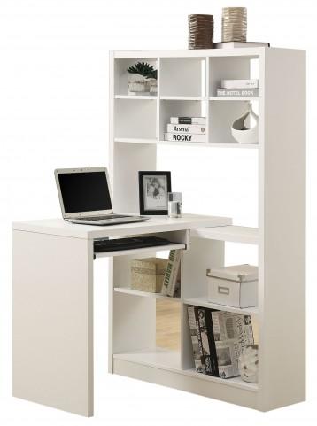 7022 White Left Or Right Facing Corner Desk