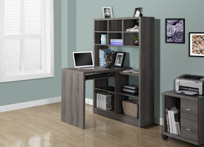 Dark Taupe Left/Right Facing Corner Desk