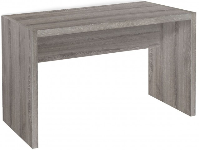 Dark Taupe Reclaimed-Look Ample surface Computer Desk