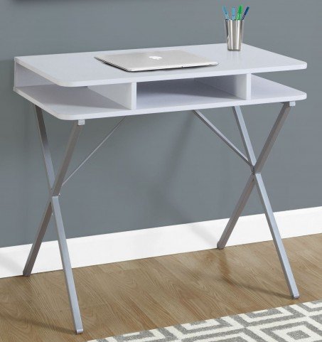 "White Top 31"" Computer Desk"