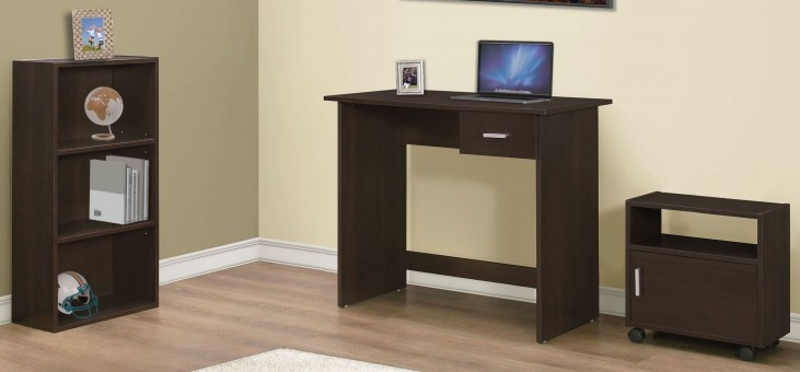 Cappiccino 3 piece Home Office Set