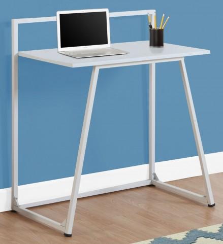 """7110 White 32"""" Juvenile Computer Desk"""
