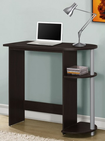 "Cappuccino 32"" Juvenile Computer Desk"