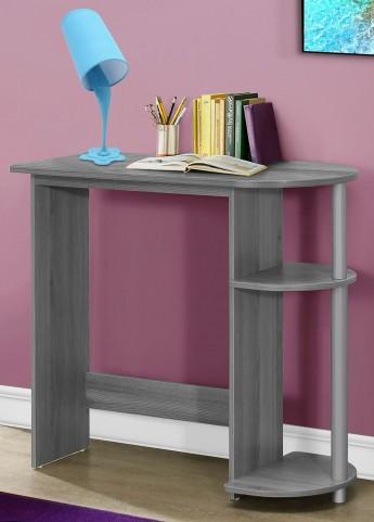 """Gray 32"""" Juvenile Computer Desk"""