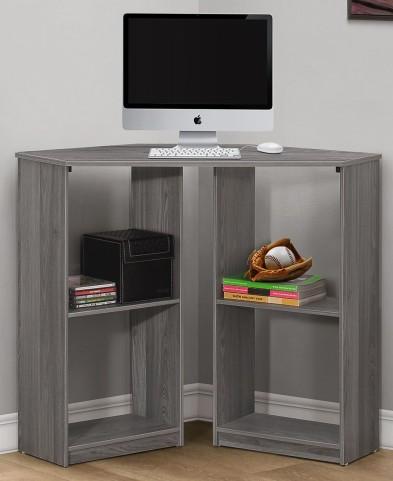 "Gray Corner 36""Juvenile Computer Desk"