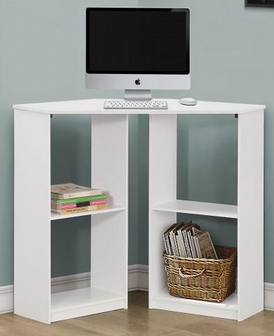 """White Corner 36""""Juvenile Computer Desk"""