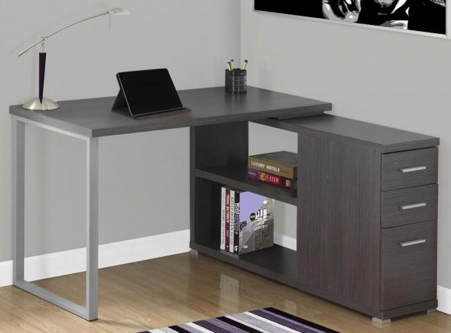 Gray LAF/RAF Computer Desk
