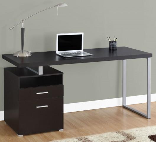 """Cappuccino 60"""" Computer Desk"""