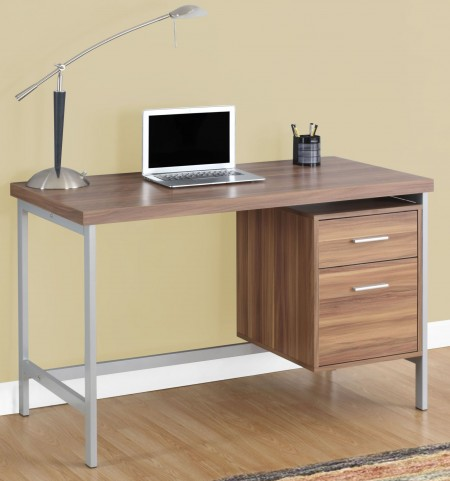 "7151 Walnut 48"" Computer Desk"