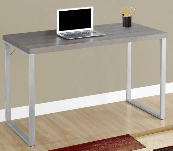 "7155 Dark Taupe 48"" Computer Desk"