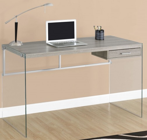 "7207 Dark Taupe 48"" Computer Desk"