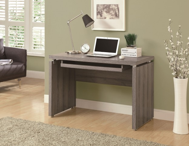 "7303 Dark Taupe 48"" Computer Desk"