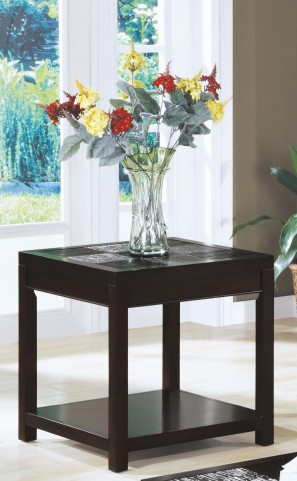 7801E Cappuccino End Table