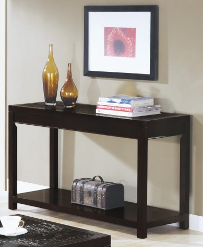 7802S Cappuccino Sofa Table