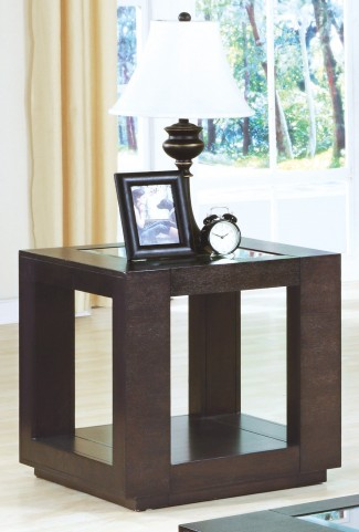 7811E Cappuccino End Table