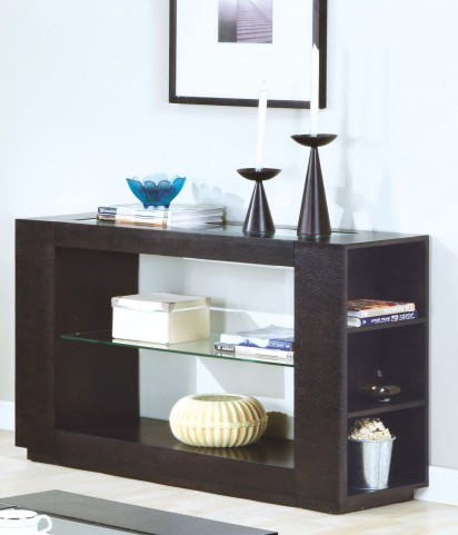 7812S Cappuccino Sofa Table