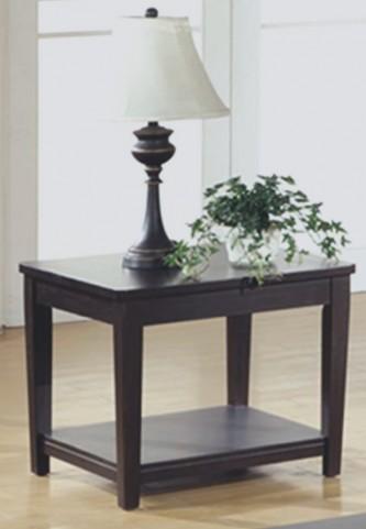 7816E Cappuccino End Table