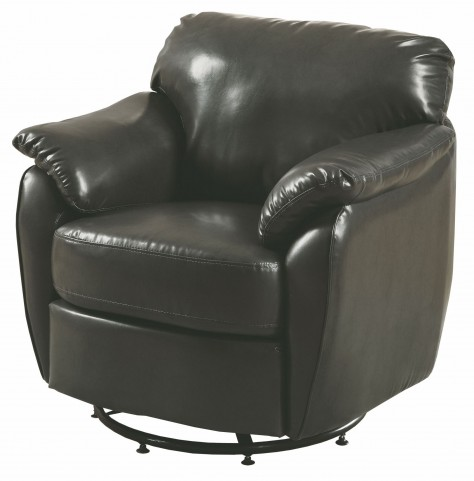 Charcoal gray Swivel Accent Chair