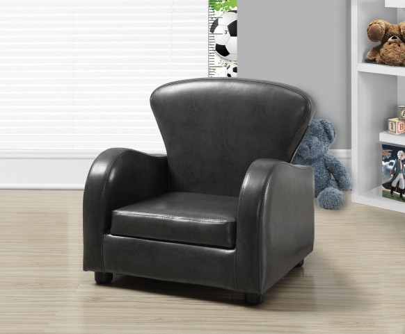 Charcoal gray Juvenile Club Chair