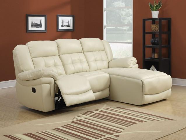 Sand Match Reclining Sofa Sectional