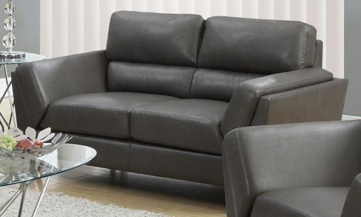 Charcoal Gray Match Loveseat 8202GY