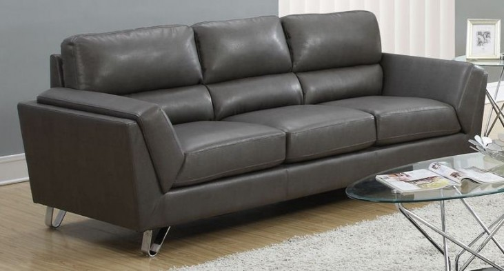Charcoal Gray Match Sofa 8203GY