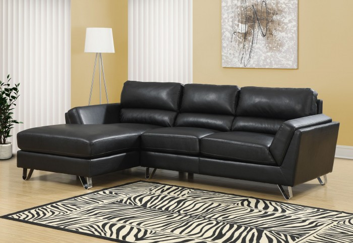 Black Match Sofa Sectional