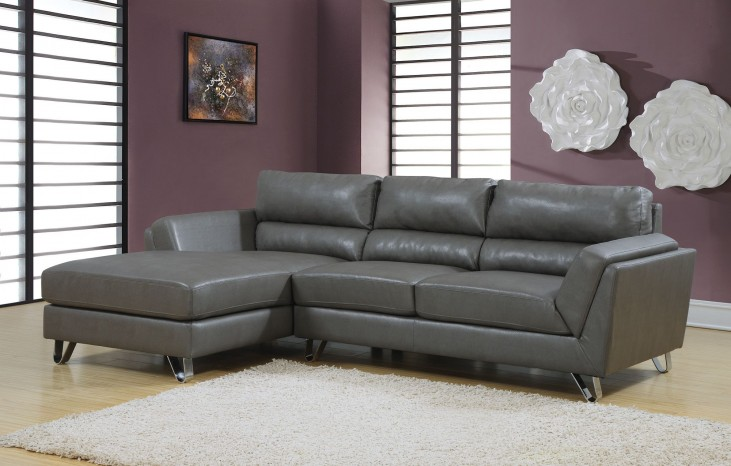 Charcoal gray Match Sofa Sectional