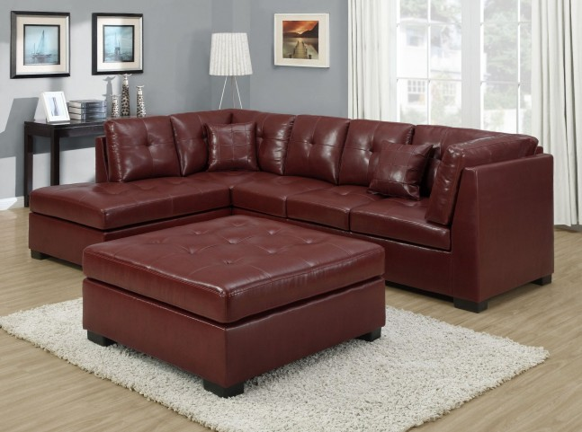 Red Match Sectional