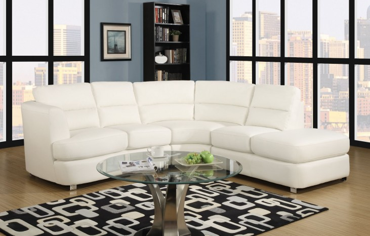 White Match Sectional