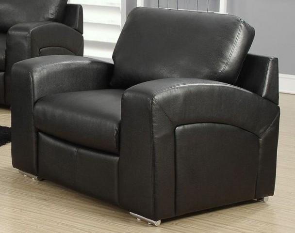 Black Linen Match Chair