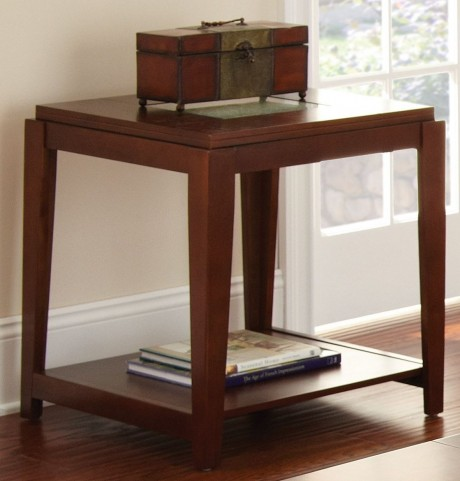 Ice Fruitwood End Table