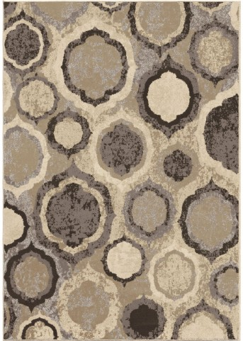 Orian Rugs Soft Bubbles Pannel Multi Area Small Rug
