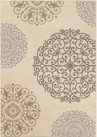 Orian Rugs Soft Medallion Fernandez Ivory Area Small Rug