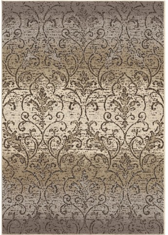 Orian Rugs Soft Scroll Fontaine Gray Area Small Rug