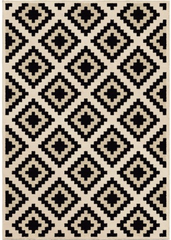 Orian Rugs Soft Blocks Cuba Ivory Area Large Rug