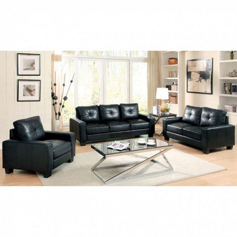 Bonsallo Black Living Room Set