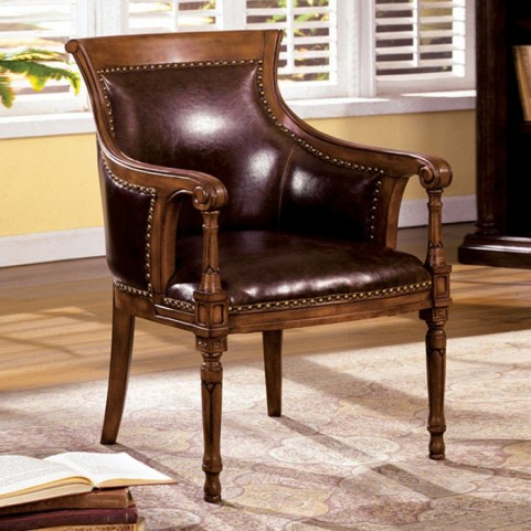 Kirklees Antique Oak Accent Chair