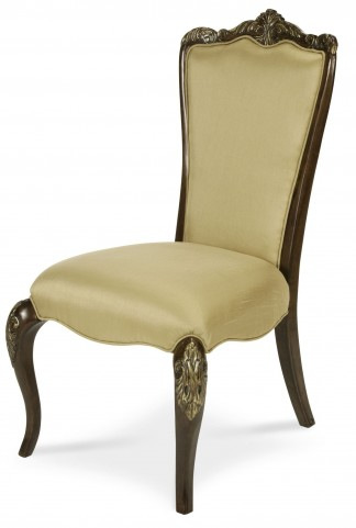 Imperial Court Fabric Back Side Chair