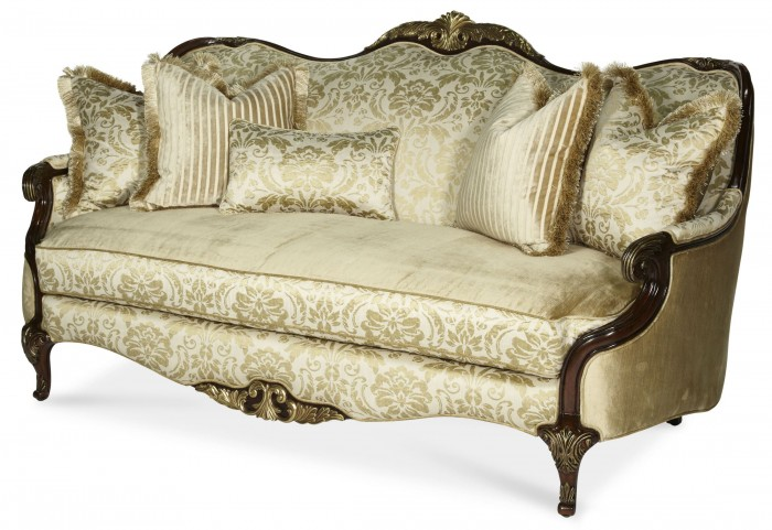 Imperial Court Wood Trim Sofa