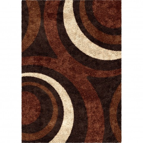Ring of Fire Mocha Large Rug