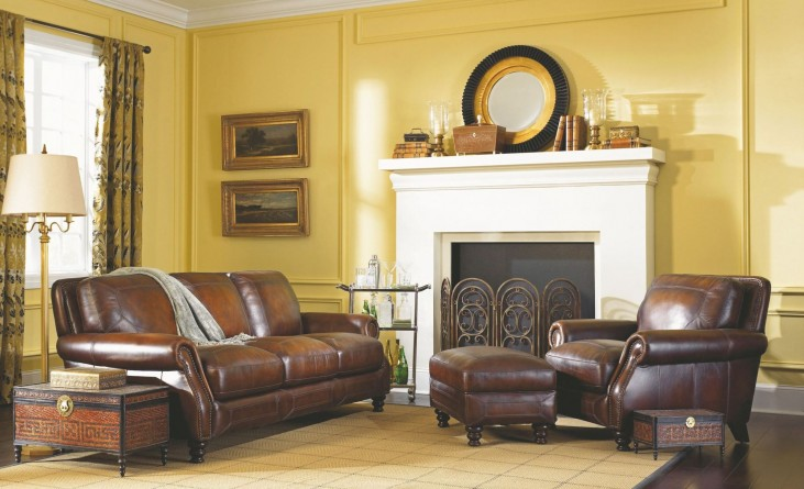 Ashland Espresso Living Room Set